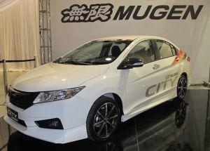 Седан Honda City получил тюнинг-пакет от Mugen