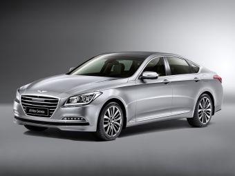 Кузов Genesis имеет 4990 мм в длину, 1890 мм в ширину и 1480 мм в высоту. Колесная база седана составляет 3010 мм.