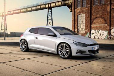 Volkswagen показал стайлинг-пакеты R-Line для моделей Scirocco и Golf