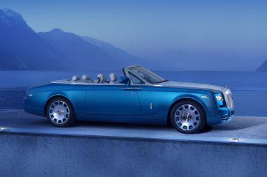 Rolls-Royce выпустит 35 специальных кабриолетов Phantom