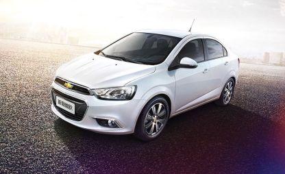 Chevrolet показал обновленный Aveo в Китае