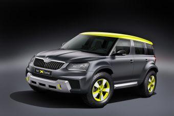 По словам представителей Skoda, команда дизайнеров Yeti Extreme, стремилась наделить прототип чертами раллийного автомобиля.