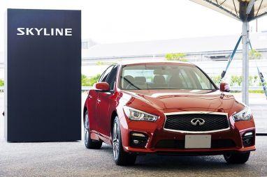В Японии стартуют продажи Nissan Skyline 200GT-t с турбомотором разработки Mercedes-Benz
