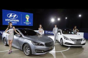 Hyundai представил новый седан AG и модернизированный Grandeur
