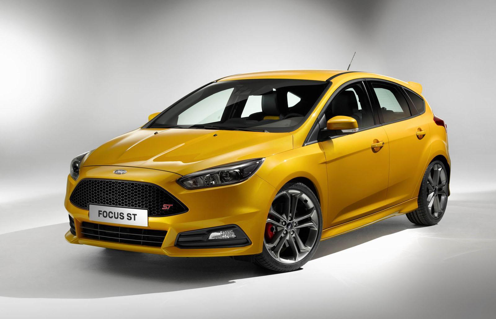 ford представил обновленную версию focus st