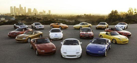 Новое поколение Mazda Roadster (Mazda MX-5) будет представлено в первых числах сентября