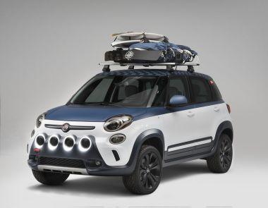 Fiat доработал компактвэн 500L для серферов