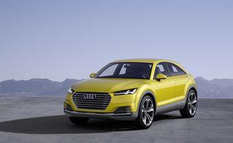 Отправной точкой при создании концепта стало купе Audi TT нового поколения, которое дизайнеры превратили в кроссовер с двумя дополнительными дверьми.