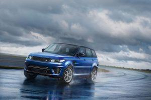 Range Rover Sport SVR стал самой мощной моделью в истории марки