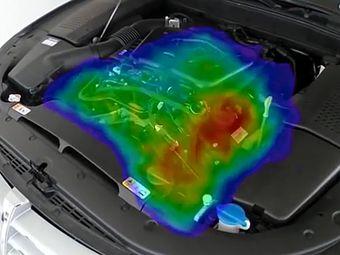 С помощью приспособления, получившего название SeeSV-S205, можно локализовать раздражающий шум в двигателе, салоне, приборной панели, креслах или других элементах автомобиля.
