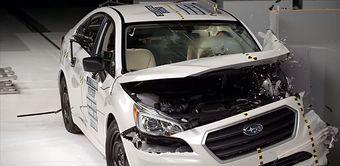 Инженерам Subaru удалось улучшить результат прошлого поколения Legacy/Outback, получившего по итогам аналогичных испытаний оценку «удовлетворительно».