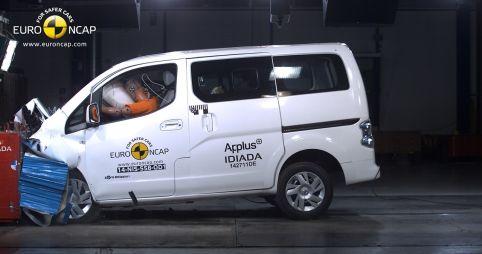 Краш-тесты Euro NCAP: кроссовер Mercedes-Benz GLA получил пять звезд, а электрокар Nissan e-NV200 — три