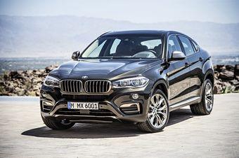 Новый BMW X6 официально дебютирует в начале октября на Парижском автосалоне 2014.