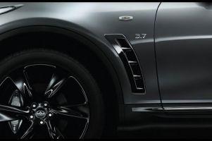 Премьера специальной версии кроссовера Infiniti QX70 S Design состоится в Париже