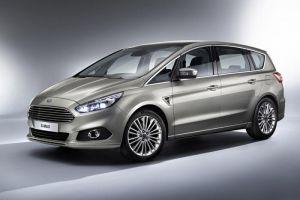 Ford представил новое поколение минивэна S-Max