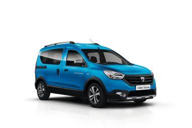 Dacia выпустила компактвэны Dokker и Lodgy в версии Stepway