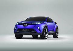 Серийный вариант кроссовера может стать серьезным конкурентом для Nissan Juke и Honda HR-V/Vezel.