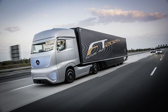 Представители компании утверждают, что Future Truck 2025 успешно прошел испытания на скорости до 80 км/ч на дорогах общего пользования в Германии.