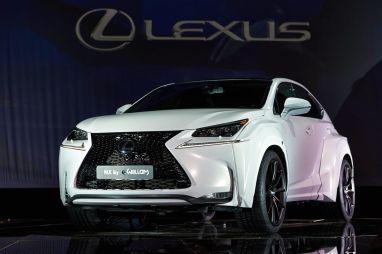 Lexus доработал дизайн кроссовера NX совместно с рэпером Will.i.Am