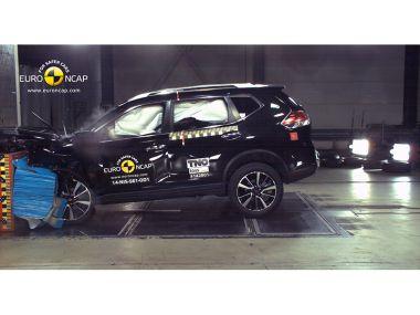Euro NCAP испытала три новые модели: Nissan X-Trail получил пять звезд, а Citroen C4 Cactus — четыре