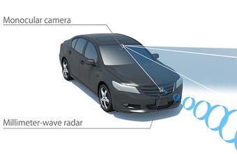 Комплекс Honda SENSING призван облегчить и сделать значительно безопаснее вождение автомобиля как в городе, так и на трассе.