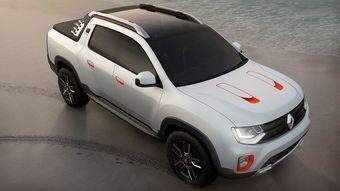 На примере прототипа дизайнеры из латиноамериканской студии Renault попытались продемонстрировать, как мог бы выглядеть спортивный пикап для рынка Бразилии.