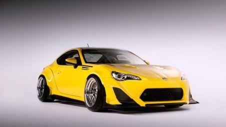Scion представил три тюнинг-проекта на базе купе FR-S