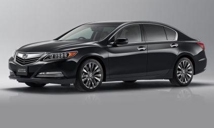 В Японии состоялась премьера новой Honda Legend