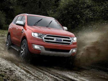 Ford официально представил рамный внедорожник Everest