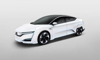 Honda обновила водородный концепт FCV