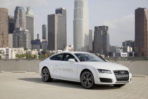 Лос-Анджелес-2014. Водородные автомобили от VAG: Audi A7 Sportback h-tron quattro и VW Golf SportWagen HyMotion