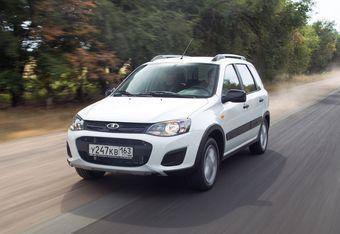 Автомобиль представляет собой переднеприводную Калину-универсал в комплектации «Норма» с увеличенным до 208 мм дорожным просветом.