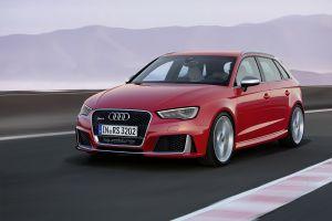 Audi представила новое поколение хот-хэтча RS3