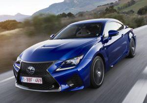 Купе Lexus RC F будет стоить от 4 338 000 рублей