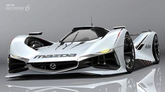 Виртуальный автомобиль посвящен вполне реальному прототипу Mazda 787B, который стал первым японским гоночным болидом, одержавшим победу в 24 часах Ле-Мана в 1991 году.