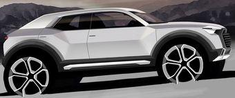Большую часть узлов, агрегатов и электроники для Q1 инженеры позаимствуют у Volkswagen Tiguan и Audi Q3.
