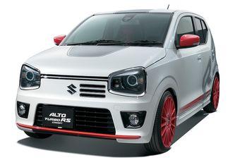 Как следует из названия прототипа, предельно доступный и экономичный Alto с 0,66-литровым трехцилиндровым мотором получит турбонагнетатель.