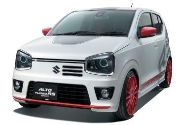 Suzuki готовит спортивную модификацию недавно представленного Alto