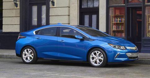 Новое поколение Chevrolet Volt показали в Детройте