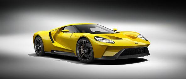 Ford разработал новое поколение суперкара GT с 600-сильным турбомотором EcoBoost