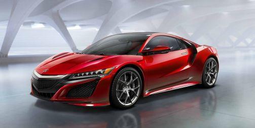 Серийная Acura NSX нового поколения представлена официально