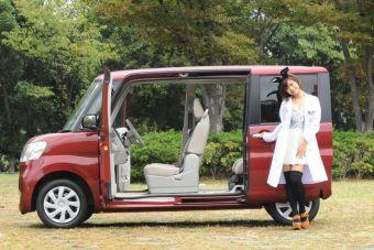Кей-кар Daihatsu Tanto стал самым популярным автомобилем вЯпонии по итогам 2014 года.