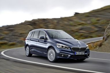 BMW представит в Женеве семиместный компактвэн 2-Series Gran Tourer