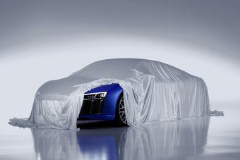 Ожидается, что конструкция нового R8 будет во многом пересекаться со спорткаром Lamborghini Huracan.