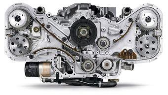 Юбилейный двигатель сошел с конвейера через 49 лет после того как FHI разработала первый горизонтально-оппозитный алюминиевый силовой агрегат с четырьмя цилиндрами и жидкостным охлаждением.