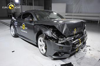 С 2015 года Euro NCAP изменила методику проведения исследований — к уже существующим испытаниям добавилось еще одно. В новом тесте автомобиль соприкасается с несминаемым барьером всей площадью передней части.