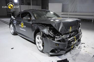 Новые правила краш-тестов Euro NCAP помешали Audi TT получить высшую оценку