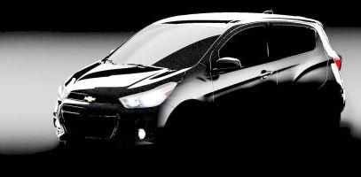 Chevrolet показал первое изображение нового Spark