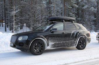 Bentayga можно будет оснастить двигателем W12, V8 или гибридной силовой установкой с 50-километровым запасом хода в полностью электрическом режиме.