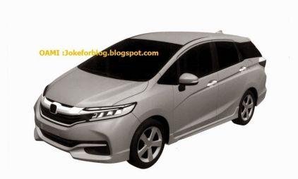 Honda готовит Fit Shuttle второго поколения